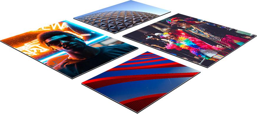 Ihr Foto als Alu-Dibond Collage