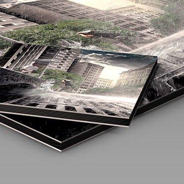 metal photo prints sizes