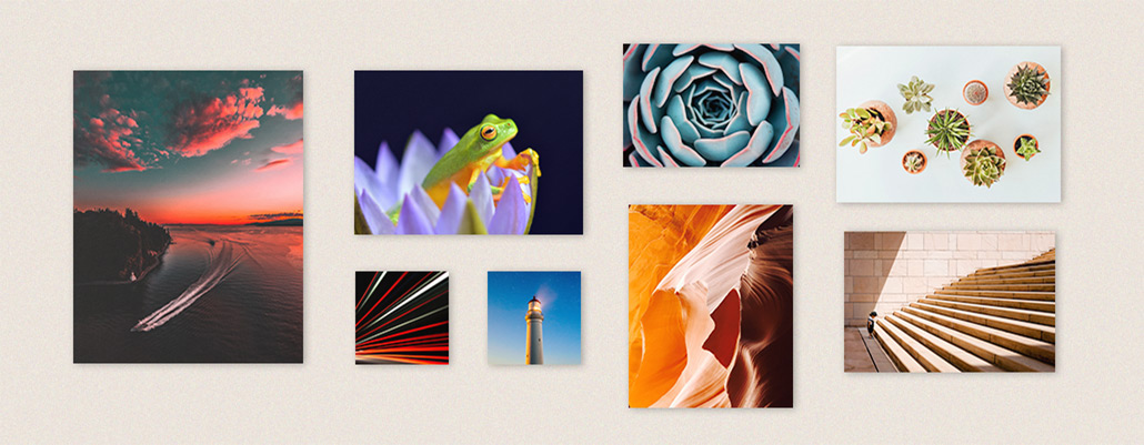 foto's op aluminium printen