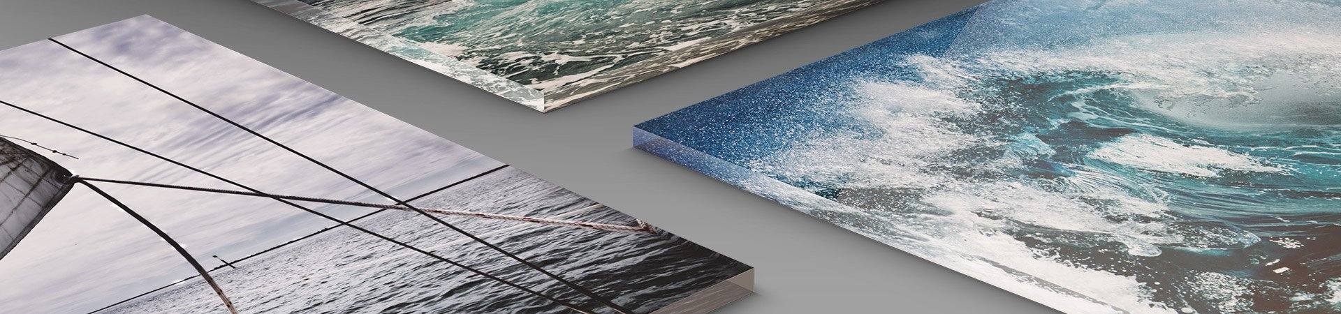 Professional acrylic photo prints